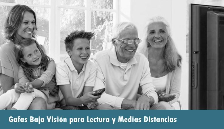 Gafas Baja Visión Para lectura y Medias Distancias